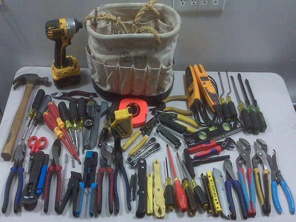 Инструменты для электромонтажных работ